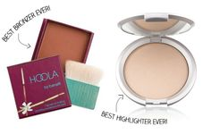 """offbeat + inspired — GIVEAWAY! Benefit Hoola Bronzer & Lorac Perfectly Lit Luminizing Powder in """"Luminous""""! Check out the """"Flawless Foundation + Contouring"""" video tutorial too!"""
