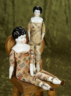 The Porcelain China Diane China Dolls, Antique China, China Porcelain, Vintage Dolls, Auction, Antiques, Prints, Clothes, Collection