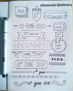 Ufu - Journal Ideas - JournalIdeen UfuUfu - Journalideen - JournalIdeen Ufu Apuntes Bonitos ✍️ Journalideen Ufu Apuntes An old route from my planner. Bullet Journal School, Bullet Journal Titles, Bullet Journal Banner, Journal Fonts, Bullet Journal Notebook, Bullet Journal Aesthetic, Notebook Doodles, Bullet Journal Boxes, Graph Paper Journal