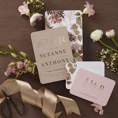 Wedding Designs Swoon over new stylish invites. Blooming back of card designs included. Send guests a wedding invitation that perfectly expresses your style. All you need are the details of your big day Pinterest Wedding Invitations, Foil Wedding Invitations, Quinceanera Invitations, Wedding Pinterest, Wedding Stationary, Shower Invitations, Wedding Paper Divas, Wedding Cards, Wedding Gifts