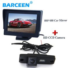 Auto car rearview camera with parking line+car reserve monito for Hyundai Elantra Terracan Tucson Accent/For Kia Sportage R 2011
