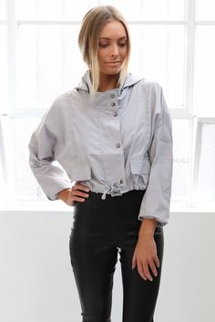 lennox jacket - grey