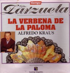 Verbena, Alfredo Kraus, Asensio