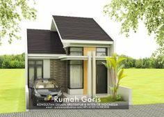 Desain lengkap rumah 1 lantai tipe 48 di lahan 6×12 meter Minimalist House Design, Minimalist Home, Model House Plan, House Plans, Modern Bungalow House, House Design Photos, Home Design Plans, Types Of Houses, Home Fashion