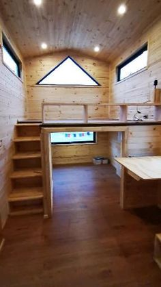 Tiny Loft, Tiny House Loft, Best Tiny House, Tiny House Living, Tiny House Plans, Tiny House Design, House Tweaking, House Design Pictures, Shed Homes