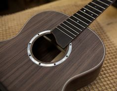 Lichty Handcrafted Wenge Tenor Ukulele in the making