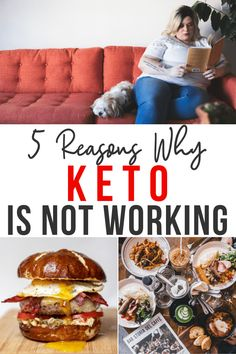 Keto not working? Here are 5 common reasons & how to fix it! Low Carb Meal Plan, Ketogenic Diet Meal Plan, Diet Meal Plans, Skewer Recipes, Vegetarian Keto, Calorie Intake, Keto Diet For Beginners, Food Allergies, Keto Snacks
