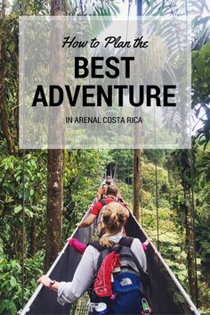 How to spend one day in Arenal to have the best adventures in Costa Rica, including rainforest hikes, hot springs, volcano views, and waterfall swims. Costa Rica Travel, Road Trip Hacks, Hot Springs, Volcano, Bridges, Need To Know, Helpful Hints, Dip, Travel Tips