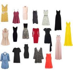 Dress silouhettes I like