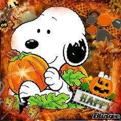 happy halloween snoopy | Happy Halloween with Snoopy ^_^! Fotografía #117428566 | Blingee.com