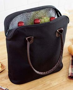 3-Bottle Insulated Cooler Totes