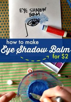 I am all for saving time in the morning when I put my makeup on, so I love cosmetics that are quick and easy to apply! Enter eye shadow balm - you use it like lip balm, but on your eyes. Just a quick swipe...