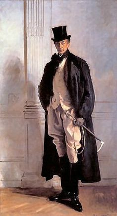 The gorgeous portrait of Lord Ribblesdale by John Singer Sargent