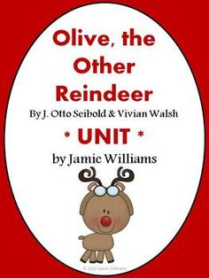 Here are 7 activities that correspond to this adorable book about a cute little reindeer (I mean, dog) named Olive!