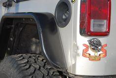 Warrior Products Jeep JK Tube Fender Flares Installation: Off-Road.com