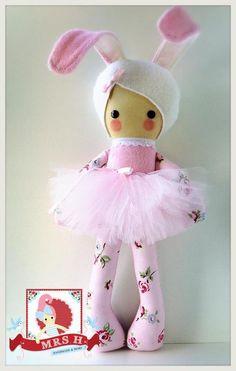Image of Made to order - Bijou Bunny-baby Petal
