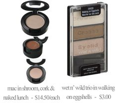 Makeup Dupes. I have this wet & wild version. The only downfall is how sparkly it is. Other than that, love it