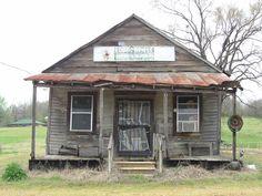 Old Cottonville Store, Mississippi Delta