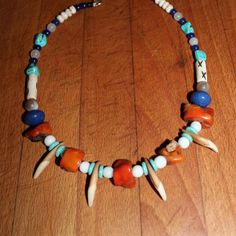 20 Tribal Real Wolf Tooth/Teeth Necklace by YourTribeNaturesArt
