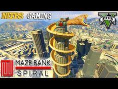 GTA 5 - MAZE BANK SPIRAL RAMP - SOUL SWITCHER GUN - FUNNY MOMENTS (Gameplay Video) - YouTube