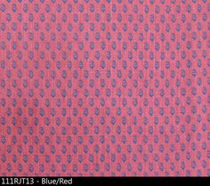 Rajmata Tonal blue red | Peter Dunham textiles