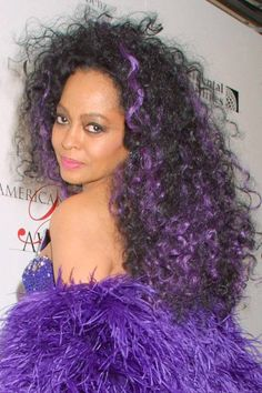 Diana Ross during Annual CFDA Awards at Avery Fisher Hall at Lincoln Center in New York City, New York, United States. (Photo by Sylvain Gaboury/FilmMagic) Natural Hair Growth, Natural Hair Styles, Diana Ross Style, Divas, Vintage Black Glamour, Tracee Ellis Ross, Idole, Hair Regimen, Black Actors