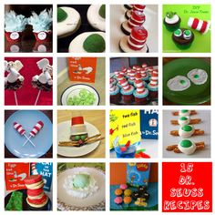 15 Dr. Seuss Recipe Ideas