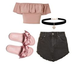 """Sin título #18"" by yudri on Polyvore featuring moda, Miss Selfridge, Puma, Betsey Johnson y Topshop"