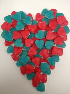 haribo blue hearts red heart throb mix heartthrobs from 100 grams Blue Sweets, Pick And Mix, Wedding Favours, Heart Shapes, Favors, Candy, Red, Ebay, Blue Hearts