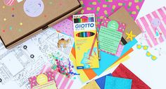 The Glittery Hands Box | Craft Subscription Box