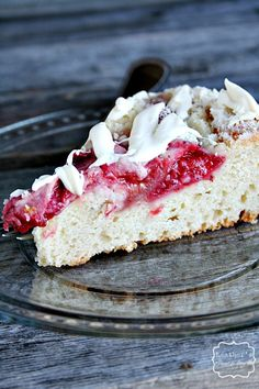 Strawberry and cream cheese coffee cake!