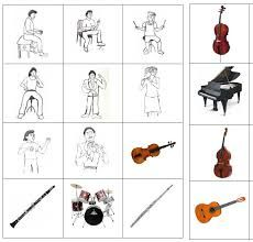 Výsledek obrázku pro hudební výchova- pracovní list Music Games For Kids, Homemade Musical Instruments, Music Heart, Creative Activities For Kids, Preschool Music, Music Worksheets, Music And Movement, Brain Training, Elementary Music