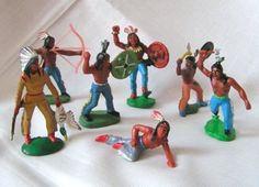Diese Indianer gehörten immer zu Deinem Spielzeug.   31 Spielzeuge, an die sich wirklich nur Ostkinder erinnern können