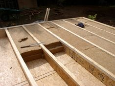 Building A Wooden Gate, Building A Shed, Shed Design, Roof Design, House Design, Eco Buildings, Small Buildings, A Frame Cabin, A Frame House