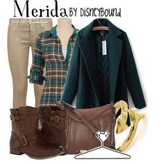 """Merida"" by leslieakay on Polyvore"