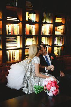 Paula & Henrique's Chic and Sleek NYC Rooftop Wedding