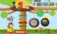 Fun interactive fire safety games with sparky the fire dog fun for Fire Prevention Week or anytime Fire Safety For Kids, Fire Safety Tips, Fire Safety Week, Child Safety, Sparky The Fire Dog, Fire Prevention Month, Safety Games, Grades, Activity Games