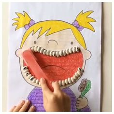 Ultimate List of Dental Health for the Classroom Human Body Activities, Fun Activities For Toddlers, Free Preschool, Preschool Crafts, Free Dental Care, Weather Crafts, March Themes, Baby Quiet Book, Cool Paper Crafts