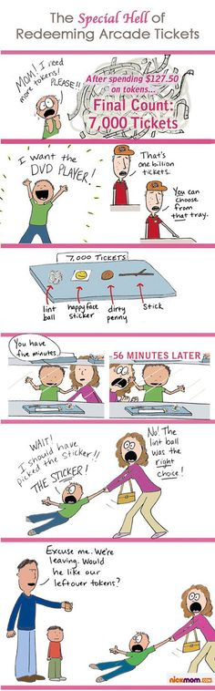 The Special Hell of Redeeming Arcade Tickets | More LOLs & Funny Stuff for Moms | NickMom