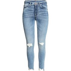 Skinny High Ankle Jeans 349.- ($60) ❤ liked on Polyvore featuring jeans, pants, bottoms, calças, skinny leg jeans, skinny fit jeans, ankle jeans, short pants and ankle length jeans