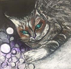 Buy Cat Play, Acrylic painting by Kumi Rajagopal on Artfinder. Discover thousands of other original paintings, prints, sculptures and photography from independent artists.