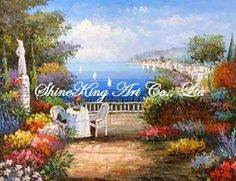 handmade oil painting on canvas impressional  seascape mediterranean sea art painting  MED1020 50x60cm US $30.00