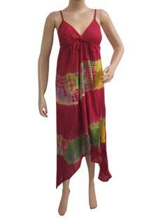 Bohemian Maxi Dress Maroon Tie Dye Spaghetti Strap Dresses Beach Coverup Sundress Mogul Interior,http://www.amazon.com/dp/B00C91HWFO/ref=cm_sw_r_pi_dp_L3s2sb1VD2MMC7N8