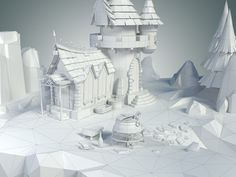 Low Poly Stylized Castle Environments modelled in 3ds Max 14. Suitable for games, mods or any real time applications. The asset is detailed enough to allow close up shots. This asset is optimized and hand tweaked. Hand-painted texture in 3Dcoat. Tota…