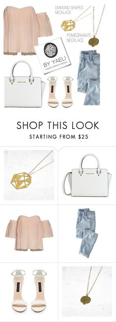"""""""YAELI JEWELRY"""" by monmondefou ❤ liked on Polyvore featuring Wrap, Forever New and yaeli"""
