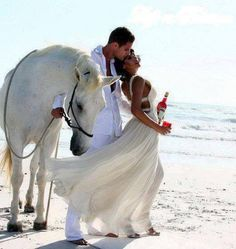 Romantic Beach wedding In White. www.sandimentalmemories.com #sandimentalmemories