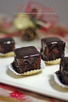 MINI SACHER - Pasticcini al Cioccolato