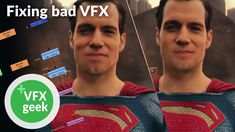 """Let's fix Superman's """"broken"""" face in Justice League! Checkout the story behind one of the worst VFX shots, and my attempt to make it better. Check out VFX G. Visual Effects, Justice League, Superman, Shots, Geek Stuff, Let It Be, Videos, Face, Geek Things"""