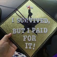 Hamilton Graduation Cap