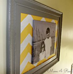 Frame Out a Canvas Print. Choose a fabric or leave frame empty around canvas or hang canvas on old barn wood Framing Canvas Art, Canvas Frame, How To Make Canvas, Diy Wall, Wall Art, Decorating With Pictures, Decorating Ideas, Frame Display, Crafty Projects